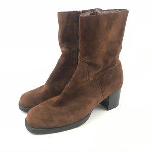 Hush Puppies Women 7.5 Boots Comfort Square Toe